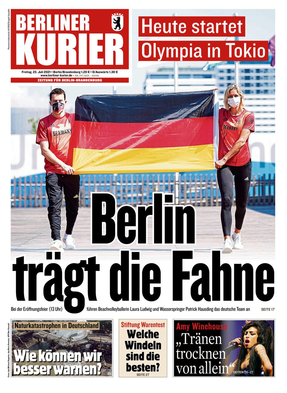 Berliner Kurier vom Freitag, 23.07.2021