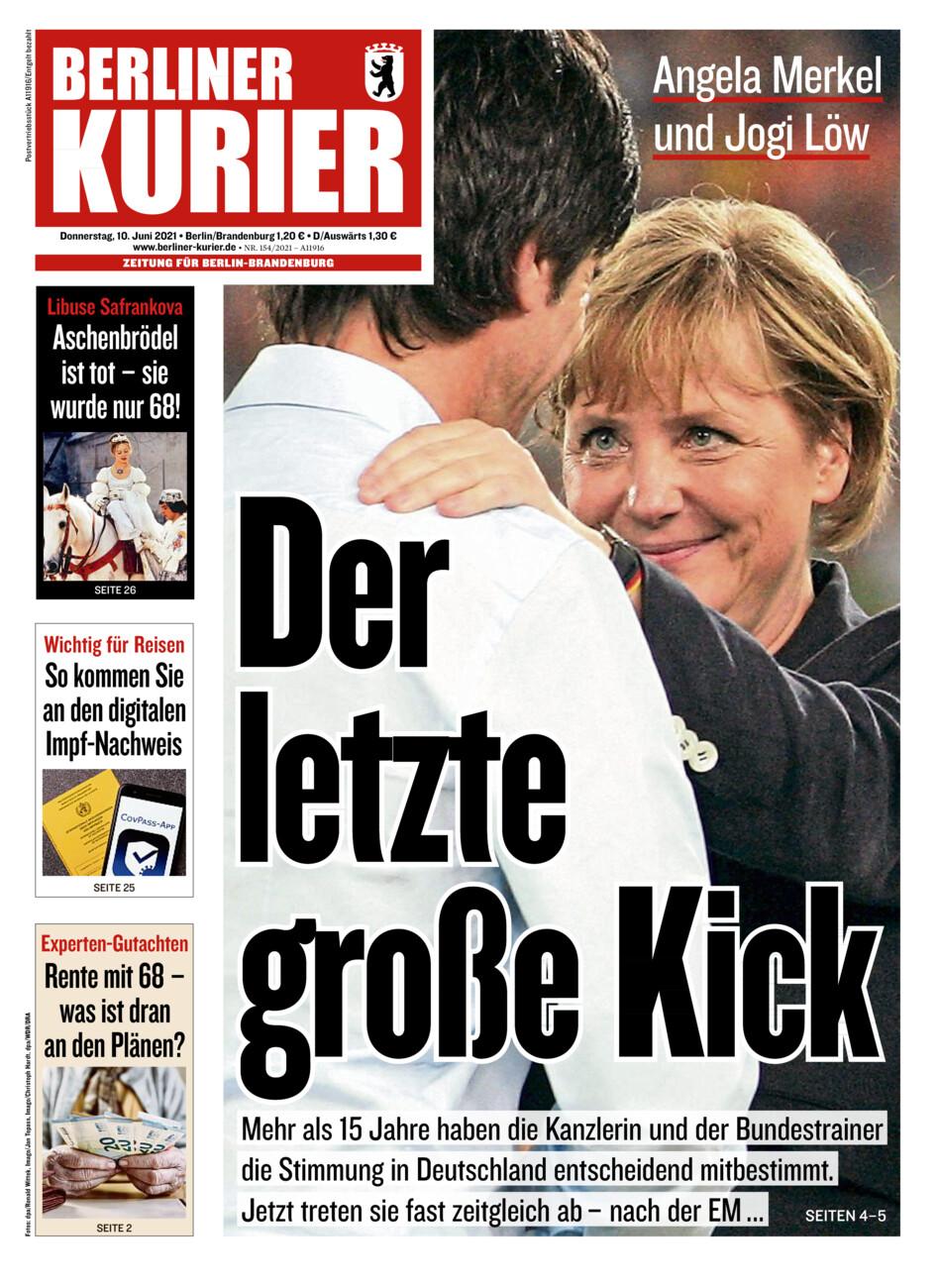 Berliner Kurier vom Donnerstag, 10.06.2021