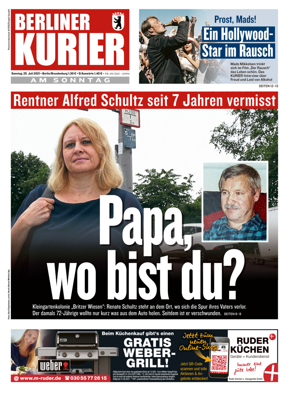 Berliner Kurier vom Sonntag, 25.07.2021