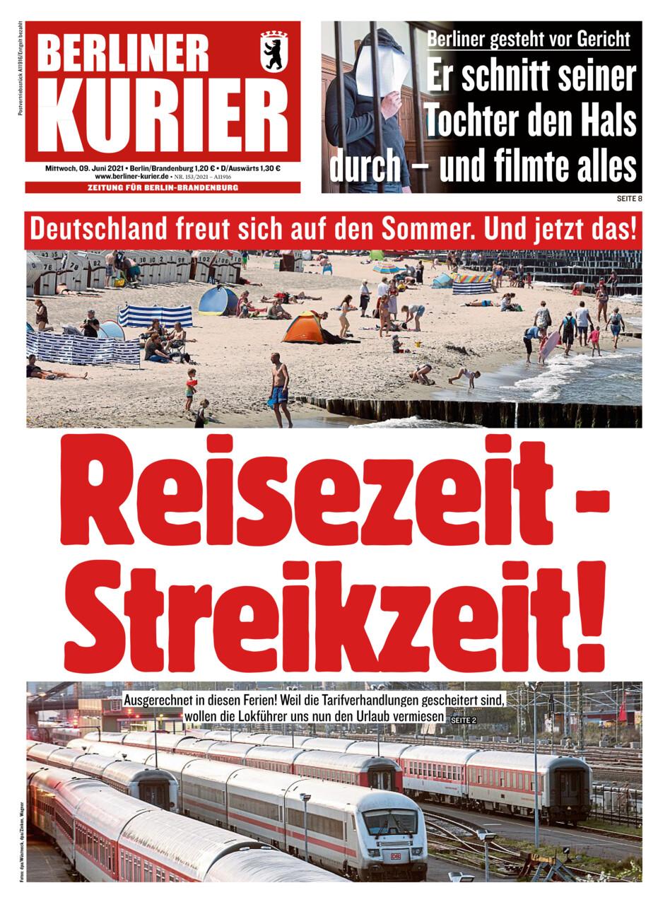 Berliner Kurier vom Mittwoch, 09.06.2021